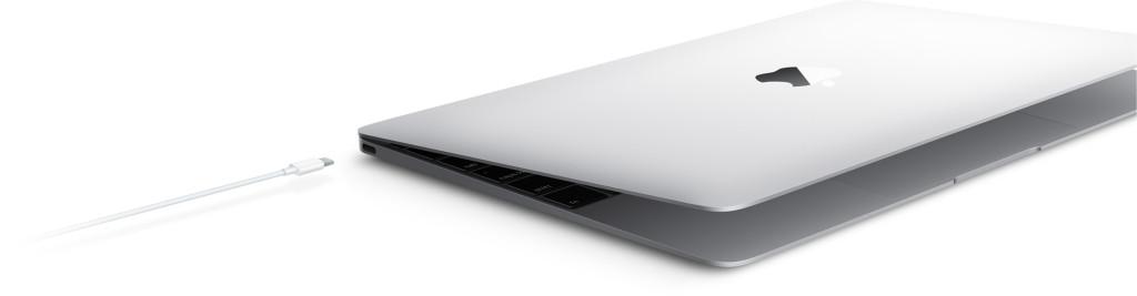 Macbook single port