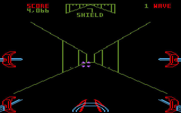 The trench run in the 1983 video game was actually more dramatic than the 2015 version.