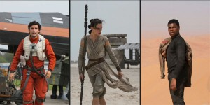 Force Awakens Trio